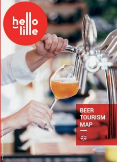Beer tourism map