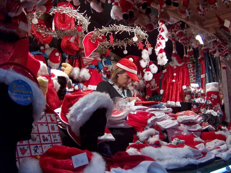 Details Christmas market - stalls
