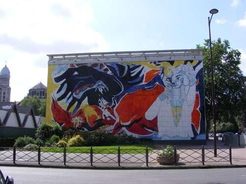 fresco-edouard-pignon-man-child-lille