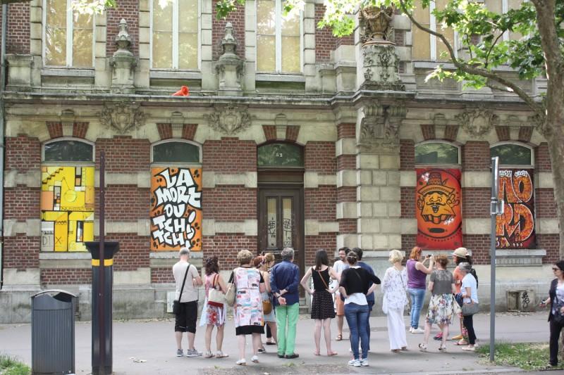 lille, visiter lille, visite street art, collectif renart lille