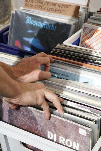 Braderie de Lille - flea market - Records