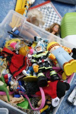 Braderie de Lille - flea market - toys