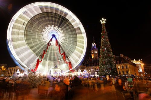 March� de No�l � Lille - March� et Grande Roue