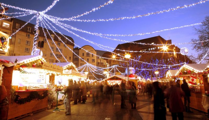 Christmas market in Lille - Place Rihour