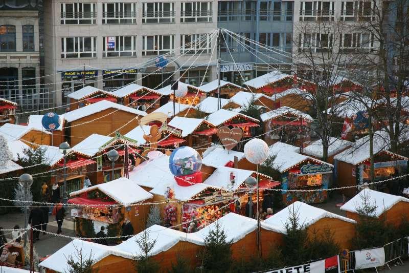 Marché de Noël à Lille - Place Rihour