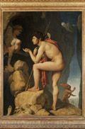 Ingres, Oedipe explique l'énigme du sphinx