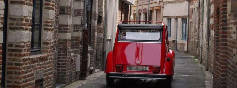 bezoek van Lille in 2CV