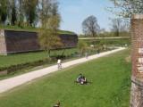 lille, bois de boulogne lille, citadelle lille, walls and gardens