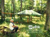 lille, bondues, outdoors, vélos à assistance électrique, tentes surélevées, tentes suspendues, camping lille, lampes solaires