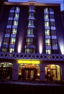 Front of hôtel Art Déco