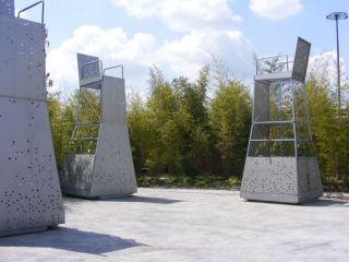 chaises jardin des géants