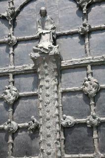 Lille, Cathédrale Lille, portail Georges Jeanclos