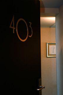 Ambiance couloir Art Déco