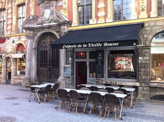 lille, restaurants lille, lille restaurants, crêperie, vieille bourse, crêperie de la vieille bourse
