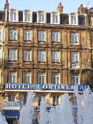 Hotel h tel continental hotel 2 toiles lille hotel - Cabinet ophtalmologie des flandres lille ...