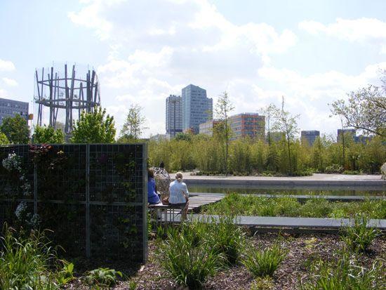 jardin des géants vue générale