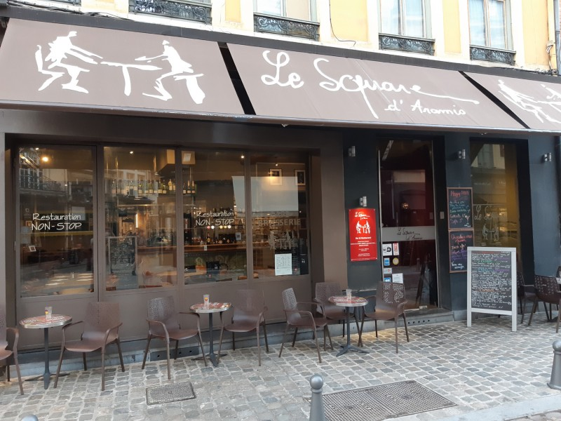 lille, restaurant lille, manger à lille, le square d'aramis, square d'aramis restaurant lille