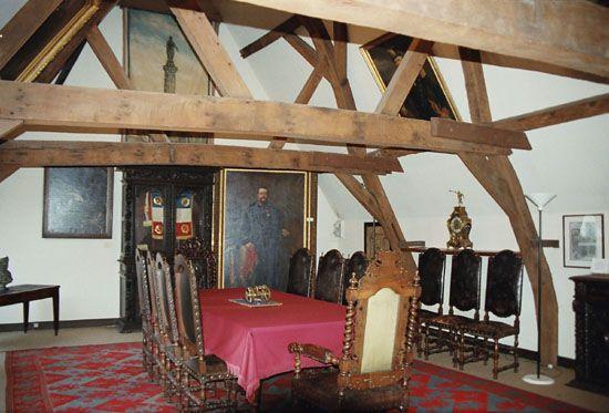 Musée des canonniers salle d'honneur