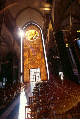 Site et monument historiques cath dralecath drale lille cathedrale notre dame de la treille - Eglise notre dame de la treille lille ...