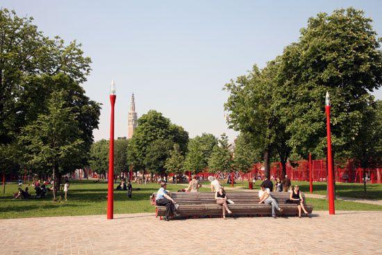 Parc Jean-Baptiste Lebas à Lille