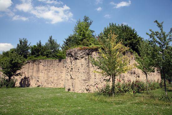 L'île Derborence au parc Henri-Matisse de Lille