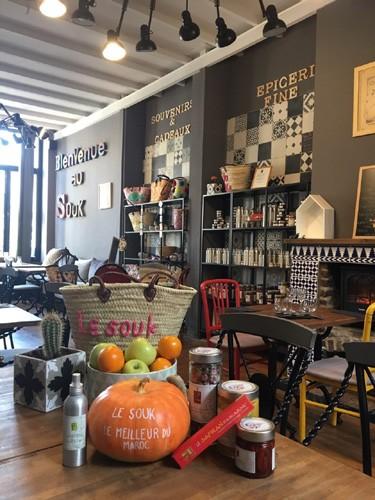 Salon de th lille centre le souk salon de th centre avec bar chemin e feu de bois fumoir - Salon de l apprentissage lille ...