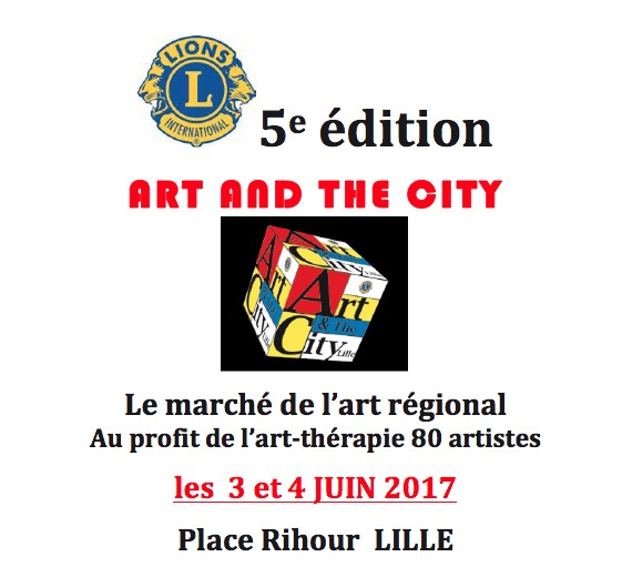 lille, lions club lille, art and the city lille