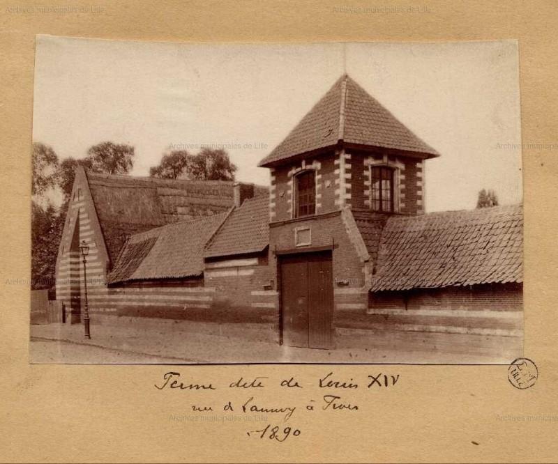 Ferme de Louis XIV - Archives Fives Lille - BC