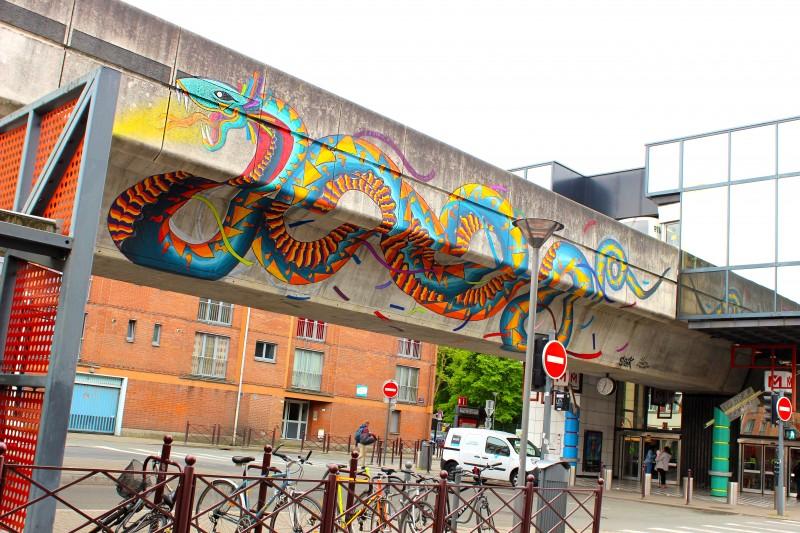 lille, lilletourism, hellolille, visiter lille, visites guidées lille, street art, street art lille, collectif renart, Spaik
